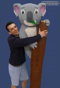 Dreamworld LEGO koala